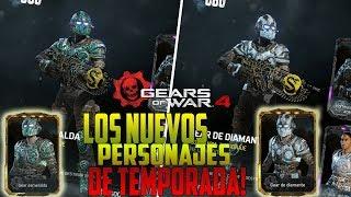 Gears of war 4 | RECLAMANDO LOS NUEVOS PERSONAJES DE LA TEMPORADA 5! CGO ESMERALDA Y DIAMANTE