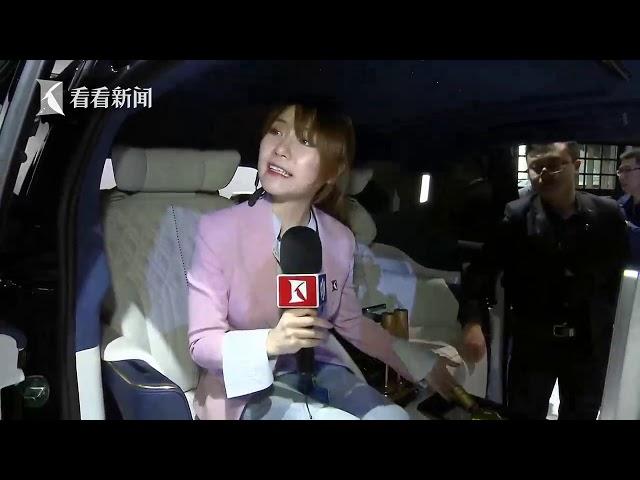 视频|2019上海车展|记者体验别克GL8 Avenir概念车