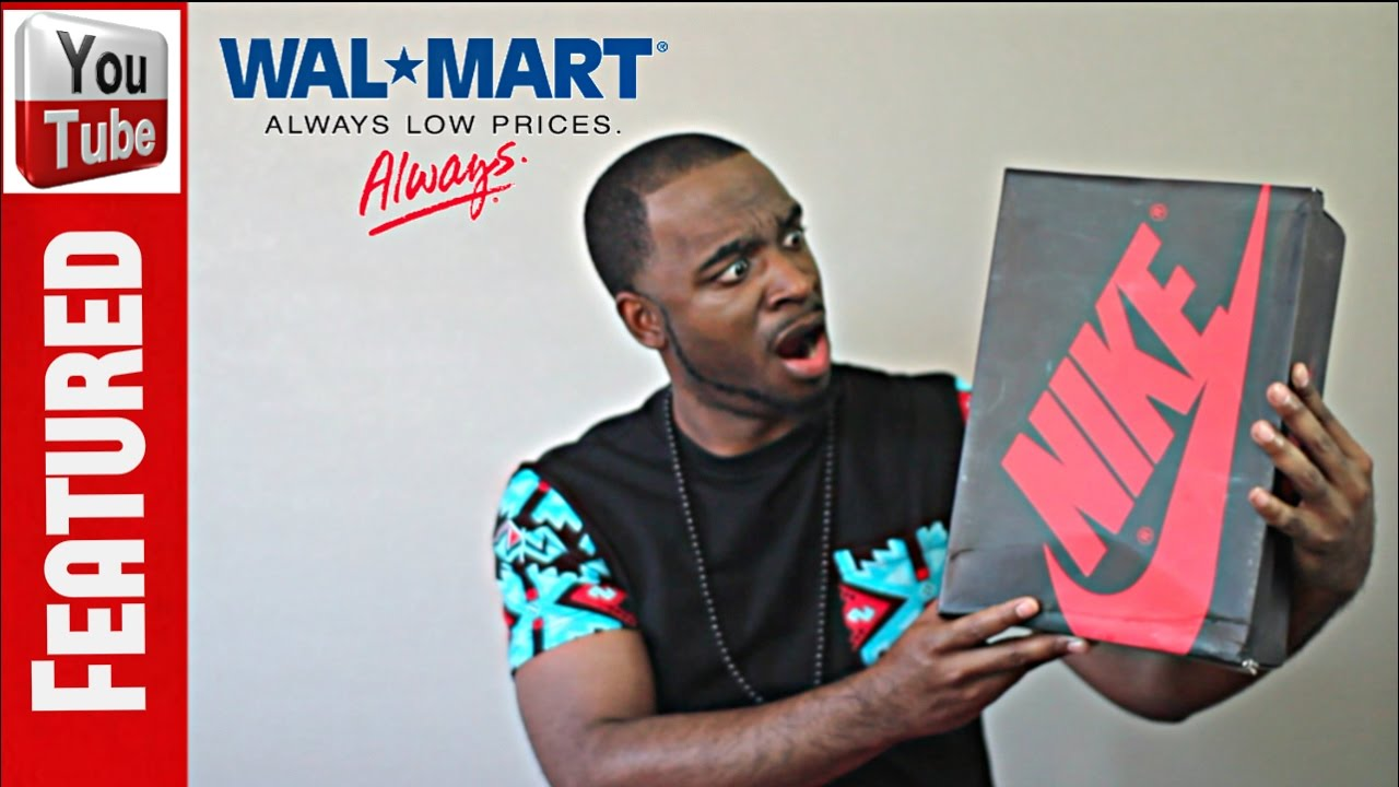 Jordans From Wal-mart Delivered!!! - YouTube 4747ff6b2