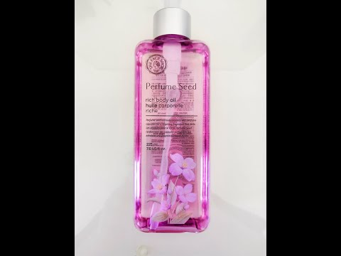 THE FACE SHOP Perfume Seed Rich Body Oil отзыв