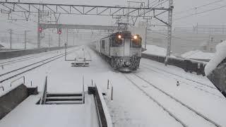 2018年 1月22日 第1094番列車 西浦和駅通過