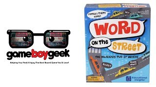 Word on the Street Review with the Game Boy Geek