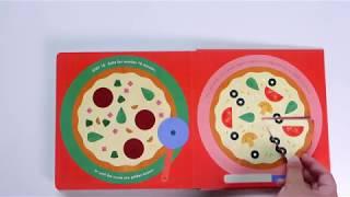 ♥ Rubee 小紅寶 ♥ 分享: Pizza! An Interactive Recipe Book  來做披薩! 互動式食譜操作書