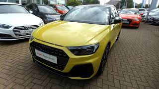 ND19WRN Audi A1 Sportback S line Contrast Edition 35 TFSI 150 PS S tronic