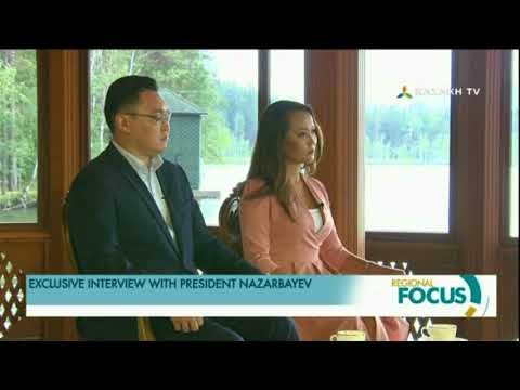 Exclusive interview with President Nazarbayev