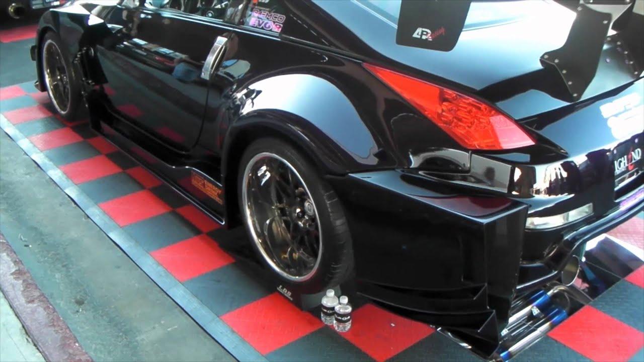 DUBSandTIRES.com 2011 Nissan 370Z Review 20 inch HRE Black ...