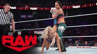 Dana Brooke vs. Shayna Baszler – Queen's Crown Tournament First-Round Match: Raw, Oct. 11, 2021