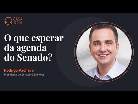 Entrevista com Rodrigo Pacheco (DEM-MG), presidente do Senado   14/6/21