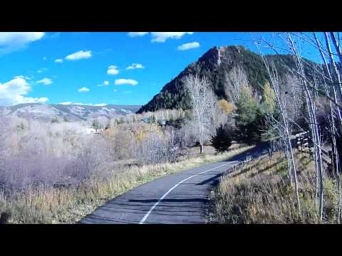 Mountain Bike Buttermilk to Aspen to Historic Lift 1 October 16 2012