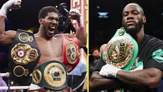 (WOW) ANTHONY JOSHUA BACKS OUT OF DEONTAY WILDER FIGHT NEXT, SAYS HE JUST FOCUSED ON HIS CAREER NOW