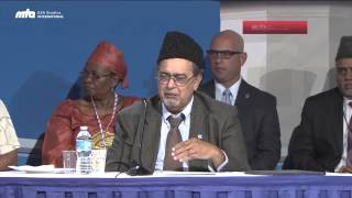 Concluding Remarks by Dr. Ahsanullah Zafar, Saturday Afternoon Session - Jalsa Salana USA 2014
