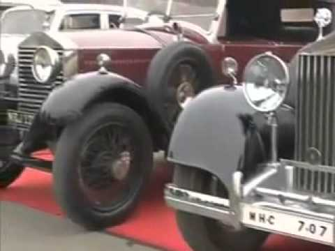 Delhi  Vintage Car Rally Hindi Travel Video