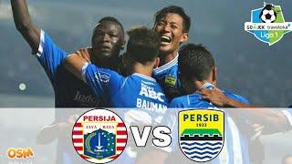 PERSIJA vs PERSIB (0-2) Liga 1 2018 [online soccer manager]
