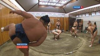 Сумо в Японии / Sumo tournament 01.2013 / 相撲トーナメント