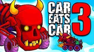 Как в Машина Ест Машину 3 Бесплатно Открыть Тачку из Костей! Быстрое прохождение игры Car Eats Car 3
