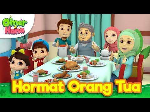 Lagu Kanak-Kanak Islam | Hormati Yang Tua | Omar & Hana