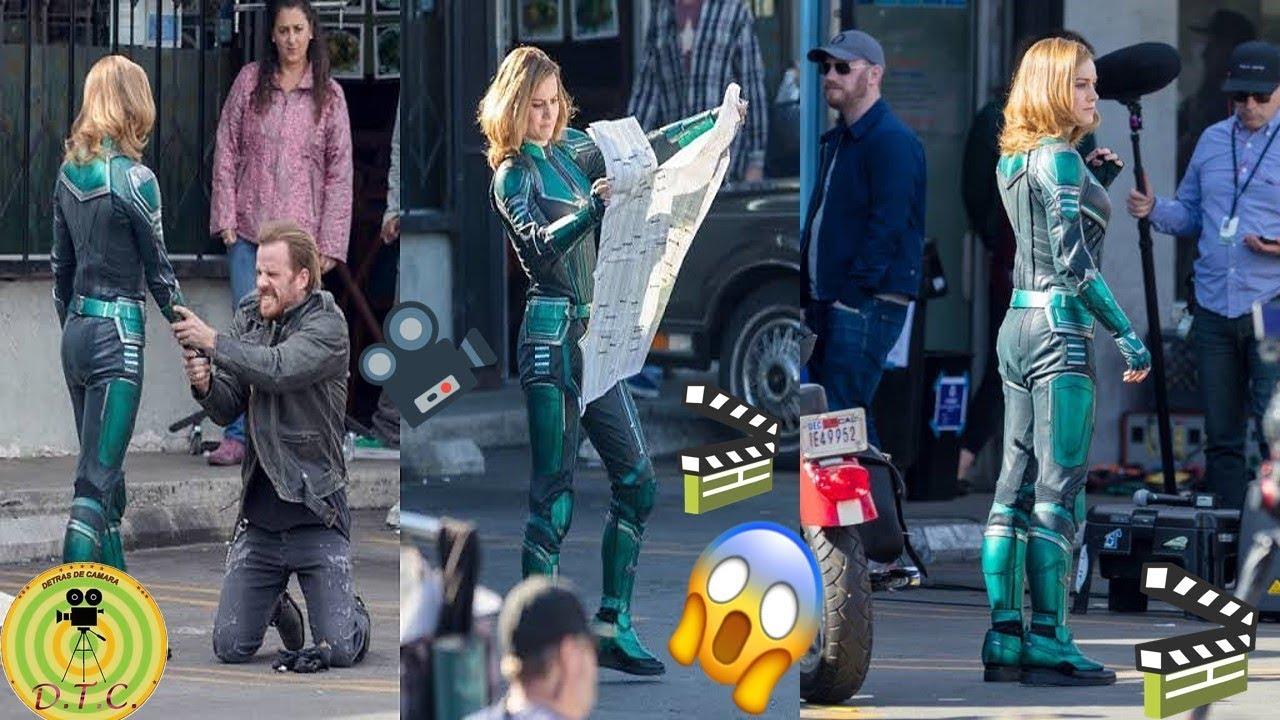 Capitana Marvel 👧-- Detras De Camara 2018-2019🎬🎥😮