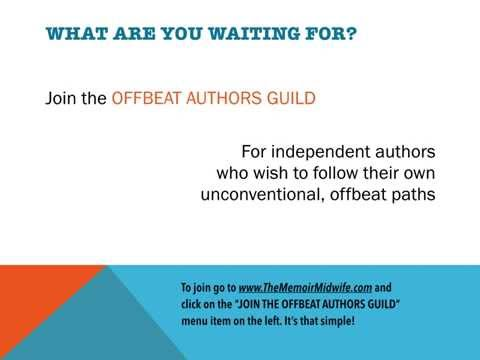 Welcome to The Offbeat Authors Guild