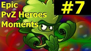 WHEN MOLEKALE GOES WRONG - PvZ Heroes Highlights And Glitches #7