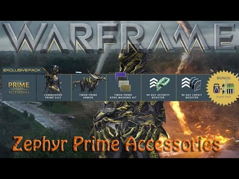 Warframe - Zephyr Prime Accessories thumbnail