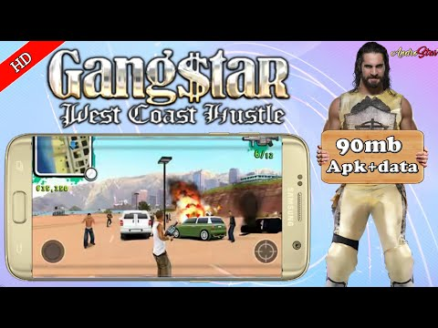 [90Mb]Gangstar West Coast Hustle Hd Open World Game For Android||Offline||Hd Gameplay Proof||Hindi