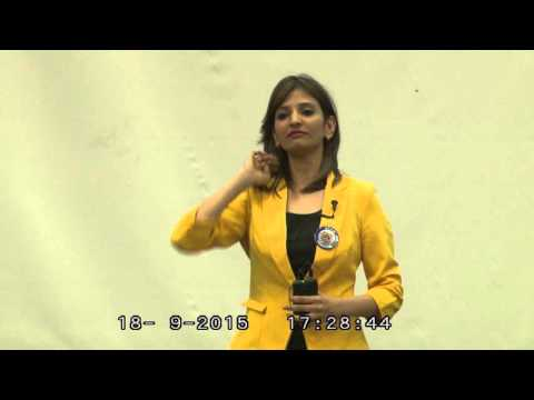 Xth Telecom Symposium:  Ms. Anshadha Dahima