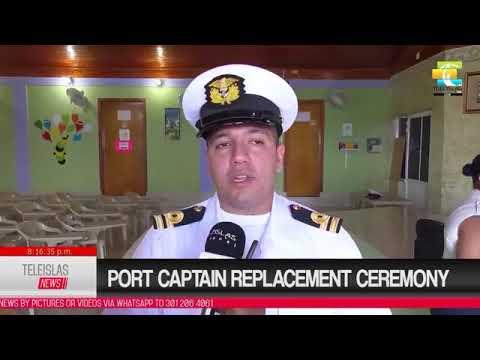 #TeleislasNews #English Port captain replacement ceremony