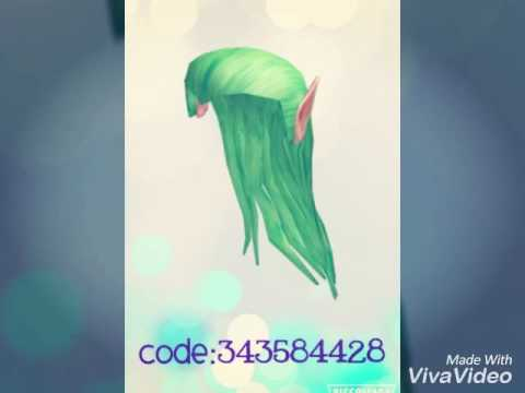 Roblox RHS Hair Codes(Girls Edition) ||Awesome Panda Productions||