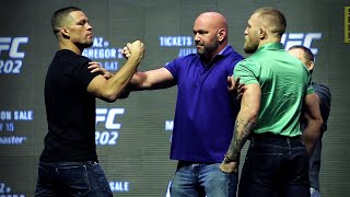 UFC 202 Staredown: Conor McGregor vs. Nate Diaz 2