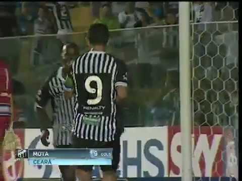 Gols - Ceará 2 x 0 Barueri - (16ª Rodada) Campeonato Brasileiro Série 2012