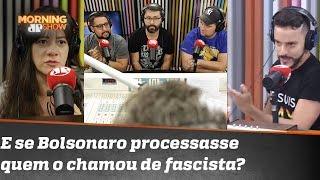 Criss Paiva: E se o Bolsonaro resolvesse processar todos que o chamam de fascista?