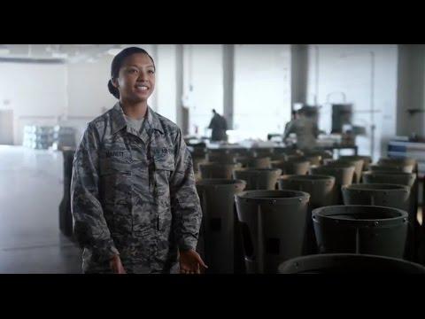 U.S. Air Force: SrA Tyler Marett, Munitions Systems