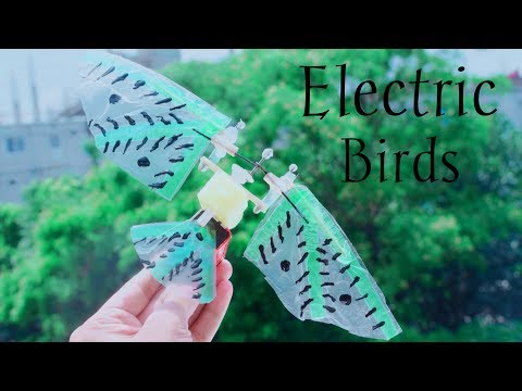 how-to-make-a-electric-flying-bird