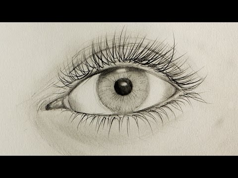 auge zeichnen tutorial ein realistisches auge zu zeichnen draw realistic eye youtube. Black Bedroom Furniture Sets. Home Design Ideas