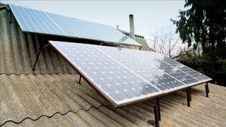 Будинок на сонячних батареях: український досвід - Дача 29.03.2014