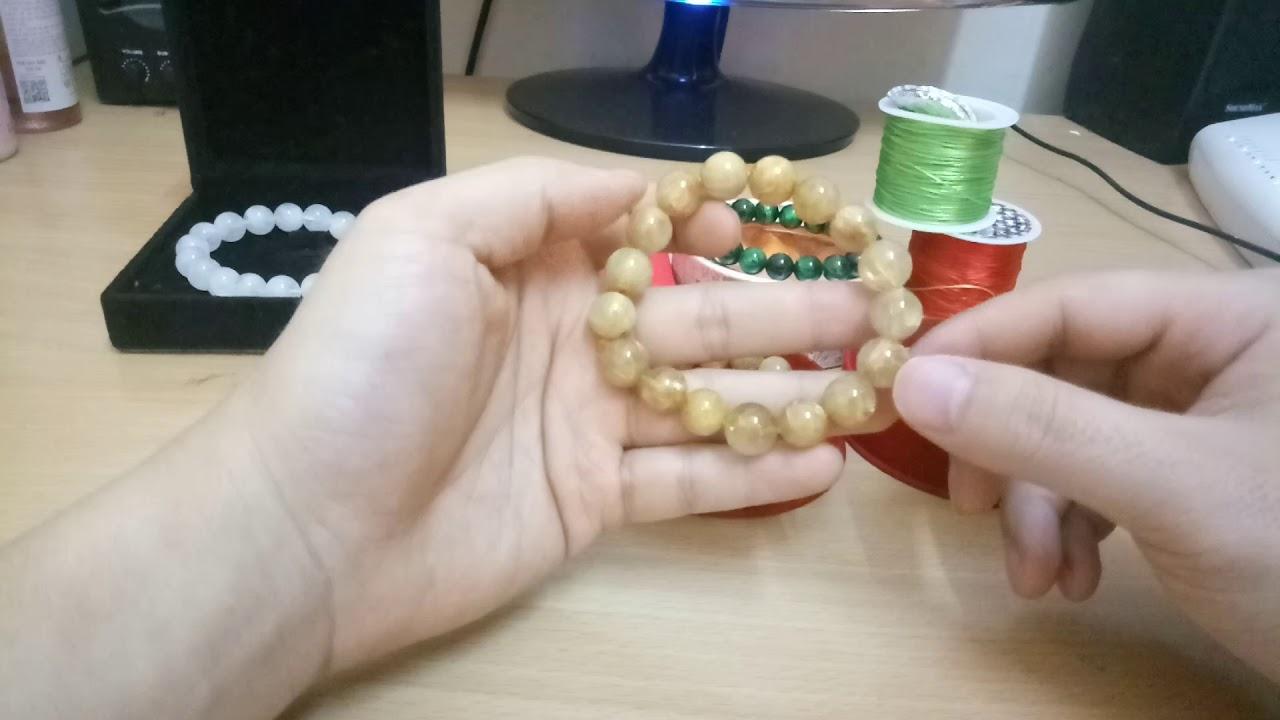 #sốhạt #Vòngphongthủy Vòng đá phong thủy nên đeo bao nhiêu hạt?cách chọn số hạt