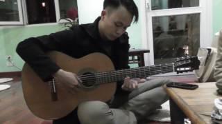 LÃNG ĐÃNG CHIỀU ĐÔNG HÀ NỘI - Độc tấu guitar Văn Nhất tại quán TRÀ PHẬT ĐÀ