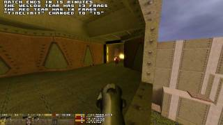 Quake 1: USA vs Europe Deathrow vs Clan 9 on DM3 (Thresh POV) Game 1 Part 1/2