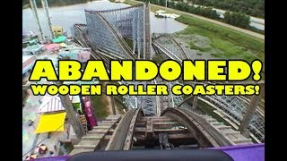 Top 5 ABANDONED Wooden Roller Coasters - Front Seat View!