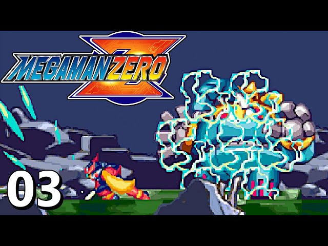 The Secret To Taking Down The Elephant Boss! - Mega Man Zero Part 3