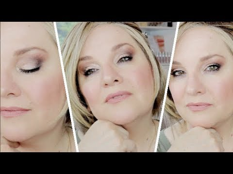 BEAUTIFUL FULL FACE MAKEUP TUTORIAL / HOW TO LINE THIN LIPS / Over 50 Makeup TIPS thumbnail