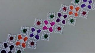 Super Easy and Creative Border Rangoli Designs Using Bangles.Rangoli Designs by Shital Mahajan.
