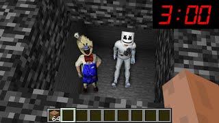 Minecraft : I FOUND SOMEONE HIDING UNDER BEDROCK!(Ps3/Xbox360/PS4/XboxOne/PE/MCPE)