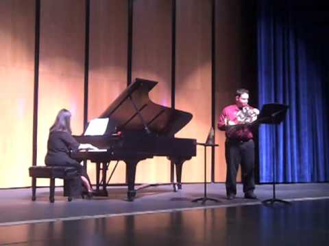 Ewazen Sonata for Horn, I. Jim Price Senior Recital