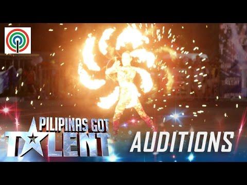 Pilipinas Got Talent Season 5 Auditions: Amazing Pyra - Fire Dancer