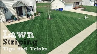 Lawn Striping - How To Achieve The Best Stripes In Your Lawn