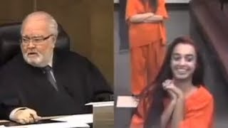 Repeat youtube video Judge DESTROYS Ditzy Rich Girl