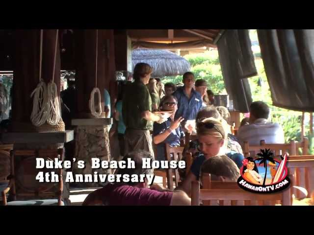 Duke's Beach House - 4th Anniversary Party - Maui, Hawaii