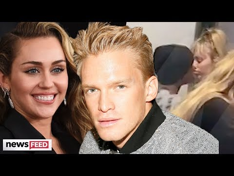 Miley Cyrus Spotted KISSING Australian Singer, Cody Simpson!