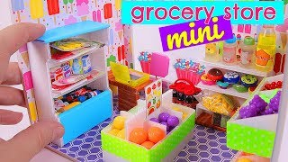 DIY Miniature Grocery Store